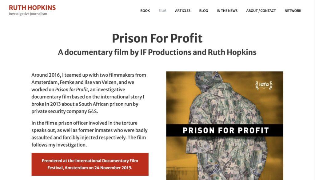 Author website Display Video