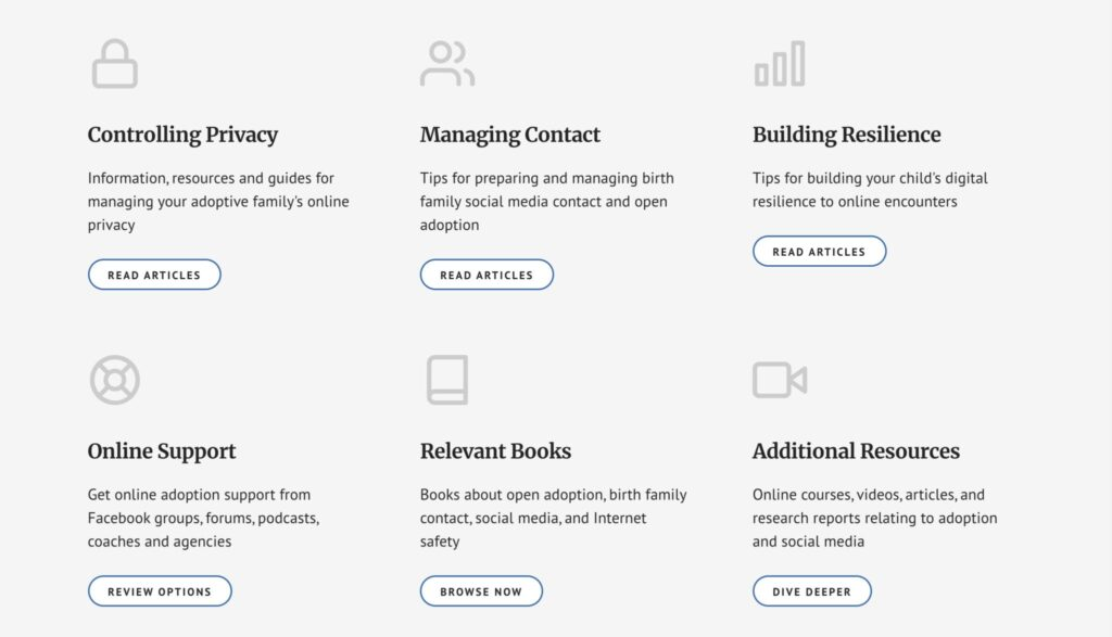 example outreach website article categories
