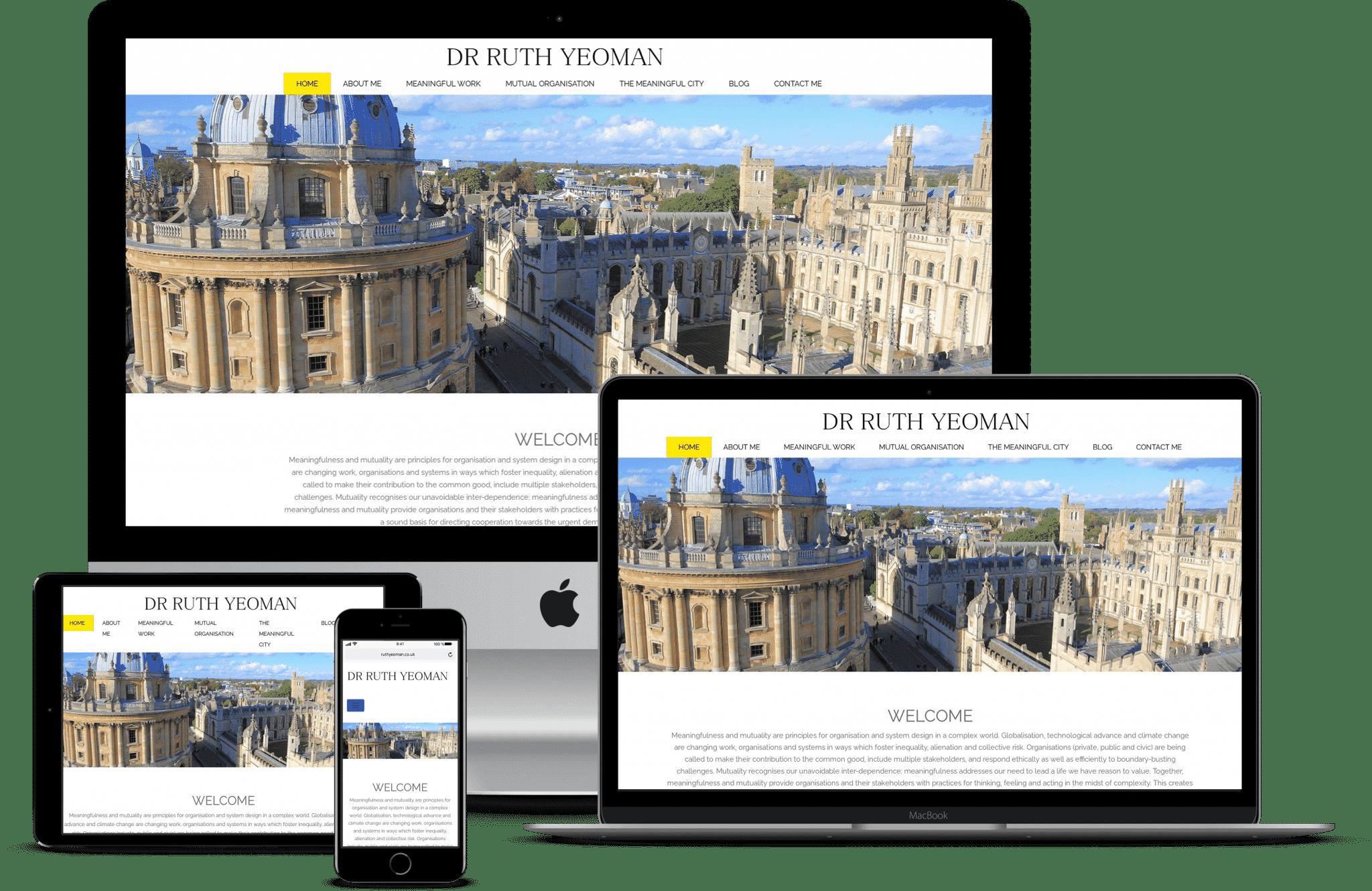 Academic Website Care Plan